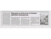 19me festival publicitaire Ibéro-américain par l'AEAP
