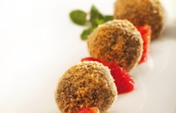 Chocolate Truffles breaded with Quely María biscuits