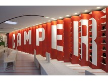 Quely accompanies Camper during the opening of its new shop in New York