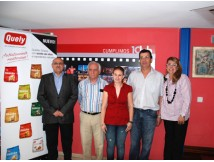 Winners of the Última Hora and Quely travel prizes