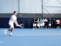 Dritter Spot mit Rafael Nadal