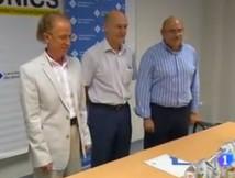TVE Pressekonferenz zum Thema Quely Cor