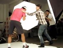 Quely: Rafael Nadal Fotoshooting