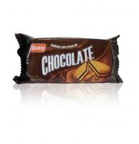 Galleta con crema de chocolate