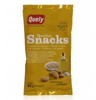 Quelitas Snacks Integral con Sésamo