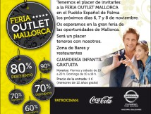 Quely attends the Outlet fair in Palma
