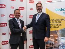 Redexis Gas firma un convenio con  Quely para transformar a gas su flota de vehículos