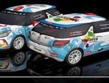 Alberto Seguí geht unser Bild in allen Kreisen Rally Championship.